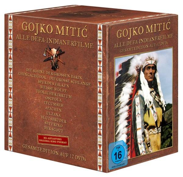 12-DVD-Box DEFA-Indianerfilme Gesamtedition