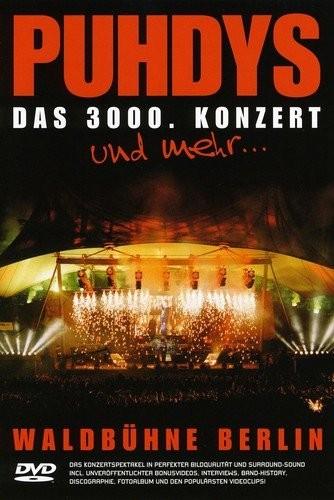 DVD Puhdys live - das 3000. Konzert