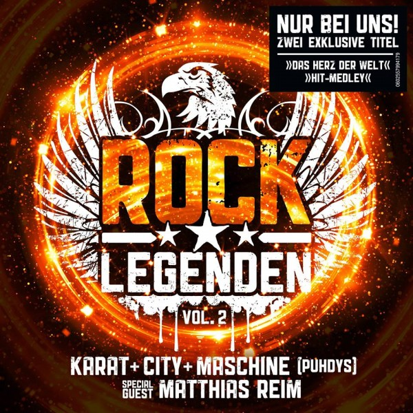 CD Rocklegenden Vol. 2