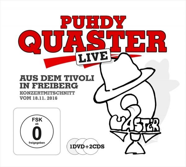 CD + DVD Live aus dem Tivoli