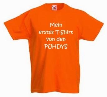 Kinder-Shirt Mein erstes T-Shirt von den Puhdys