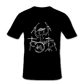 T-Shirt Schlagzeuger