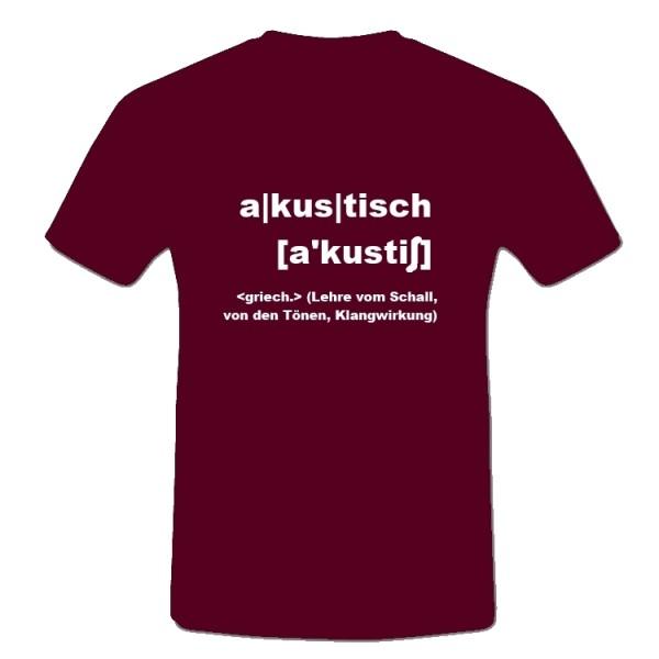 T-Shirt Akustik-Tour 2009/2010