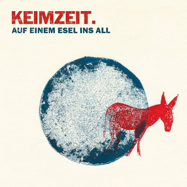 Vinyl Auf einem Esel ins All