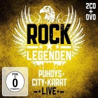 2-CD + DVD Rocklegenden Live