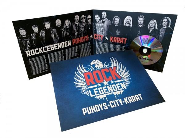 Folder + CD Rocklegenden