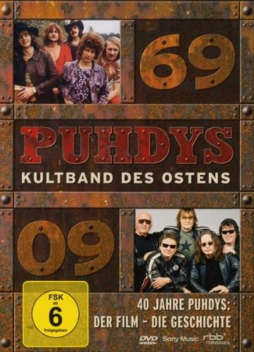 DVD Puhdys - Kultband des Ostens