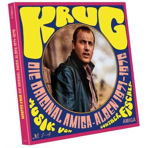 Vinyl-Box Manfred Krug - Die Amiga Alben (4 LP)